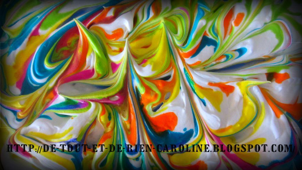 papier marbr cr me raser et peinture l 39 eau liquide peintures artistiques ou autres. Black Bedroom Furniture Sets. Home Design Ideas