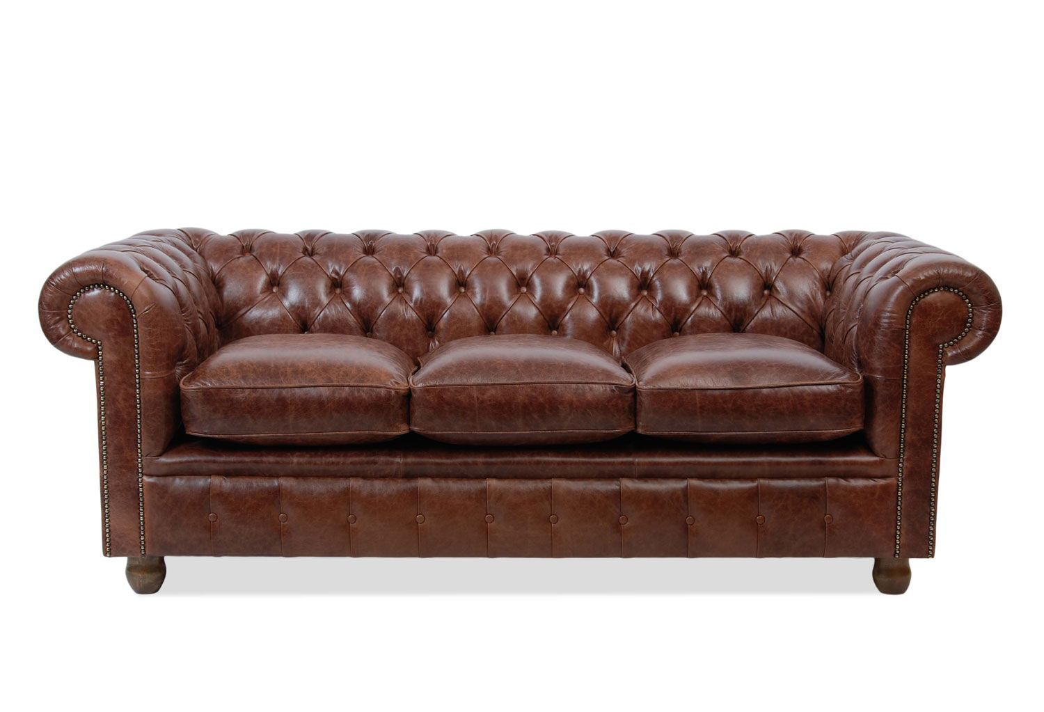 Vintage oxblood leather three seater chesterfield sofa has the vintage oxblood leather three seater chesterfield sofa has the preferred button base seat no plain cushion pads to slide about and a deep armb parisarafo Image collections