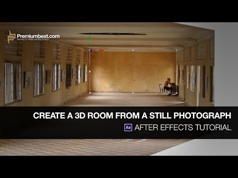 After Effects Tutorial Create A 3d Room From A Still Photograph Youtube After Effect Tutorial After Effects Tutorial