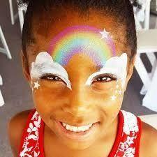 Risultato dell'immagine per i bambini di unicorno che dipingono il viso - Fitness GYM,  #Bambini #ch...