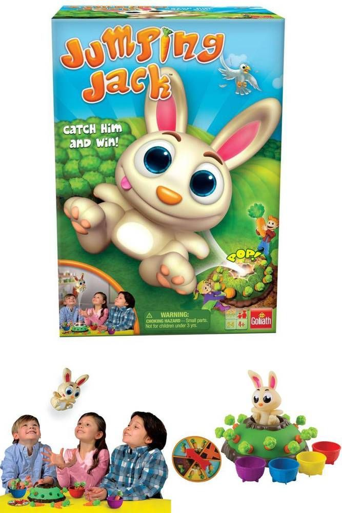 Jumping jack fun for the whole family game perfect easter gift for jumping jack fun for the whole family game perfect easter gift for kids easter negle Image collections