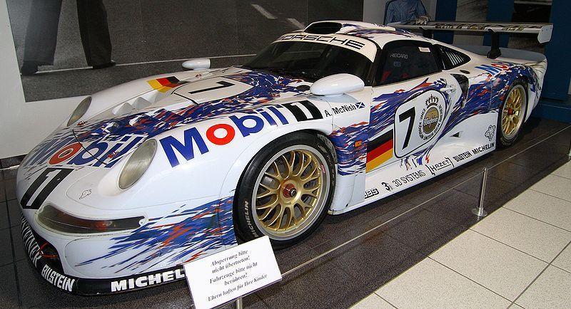 Porsche GT1 car from the 90\u0027s.