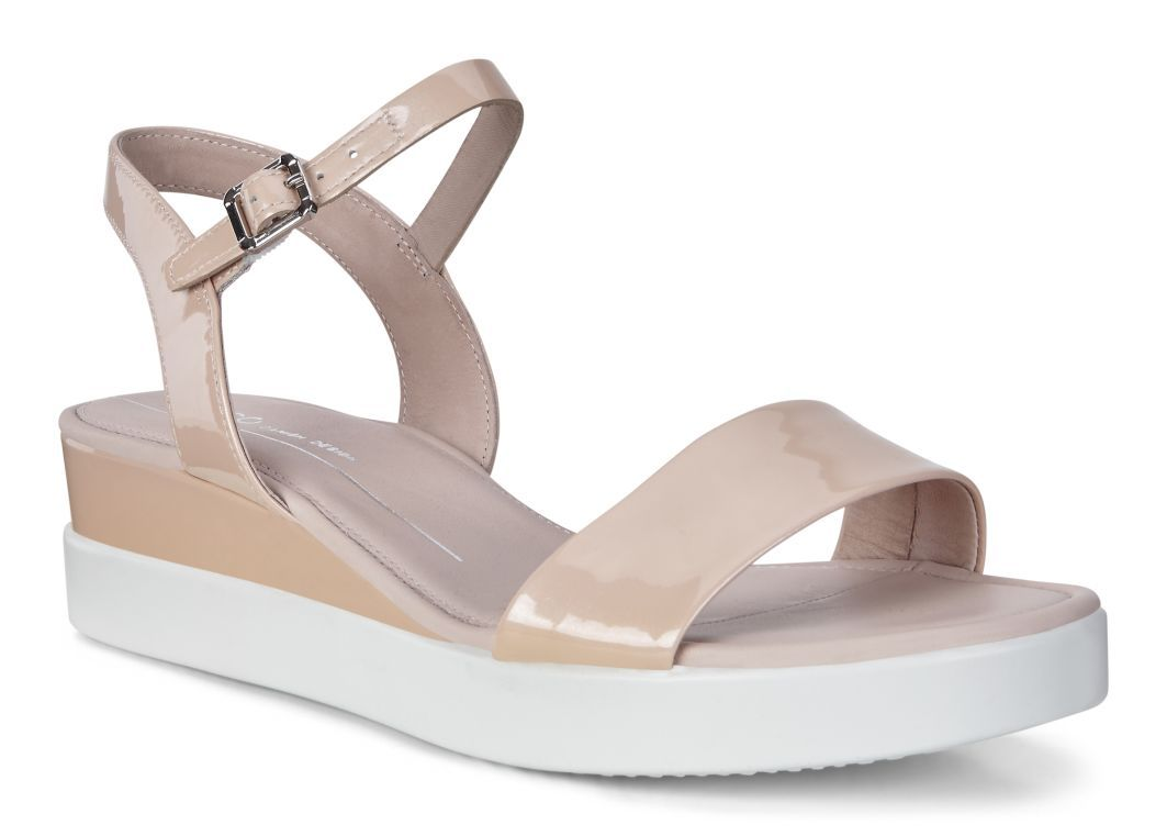 05a27672933c7 ECCO Touch Sandal Plateau - love the patent nude | ECCO x See Anna ...