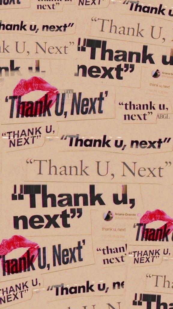Thank U Next Wallpaper In 2019 Wallpaper Iphone Wallpaper