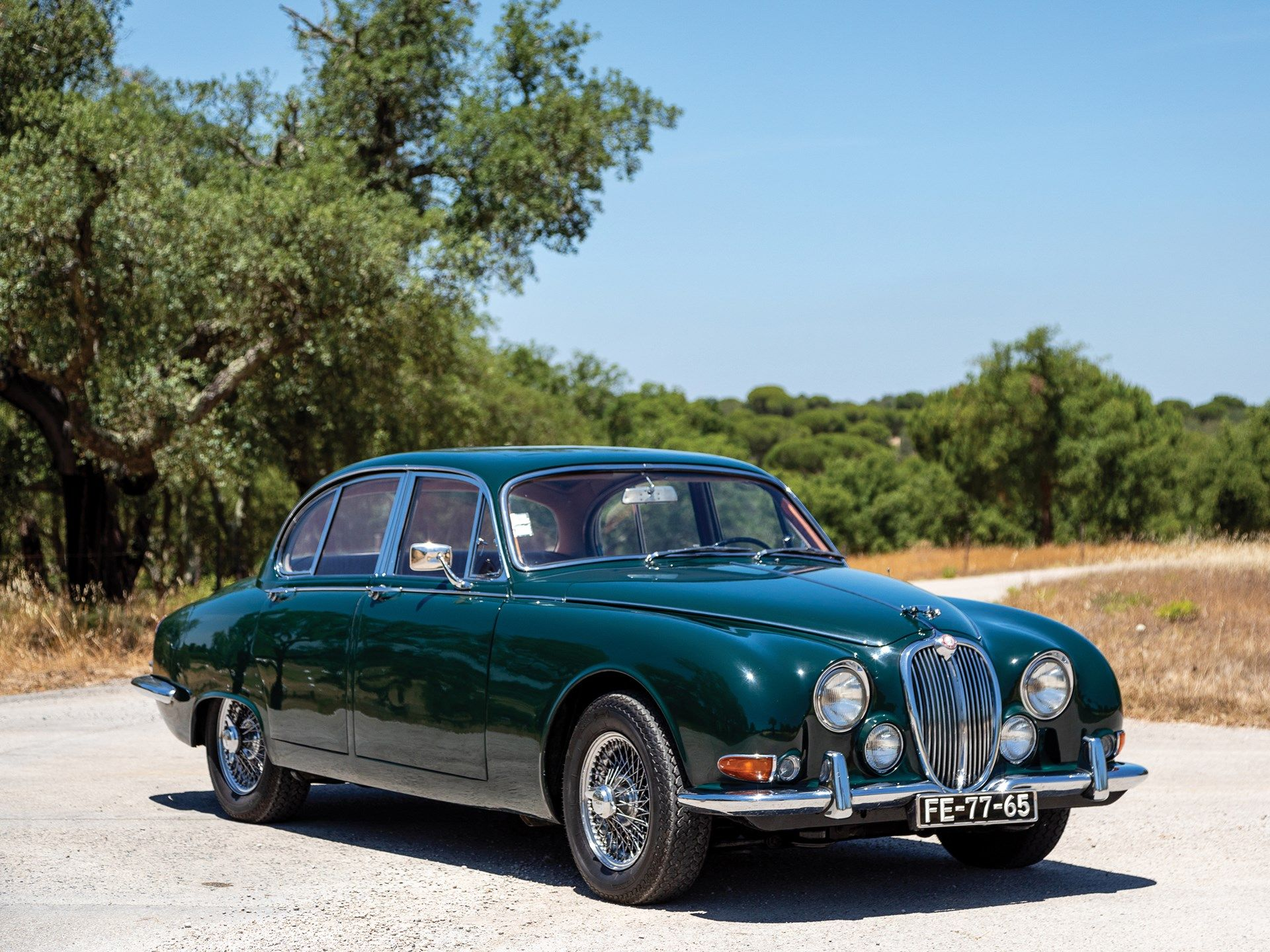 First introduced in September of 1963, Jaguar's new S-Type ...