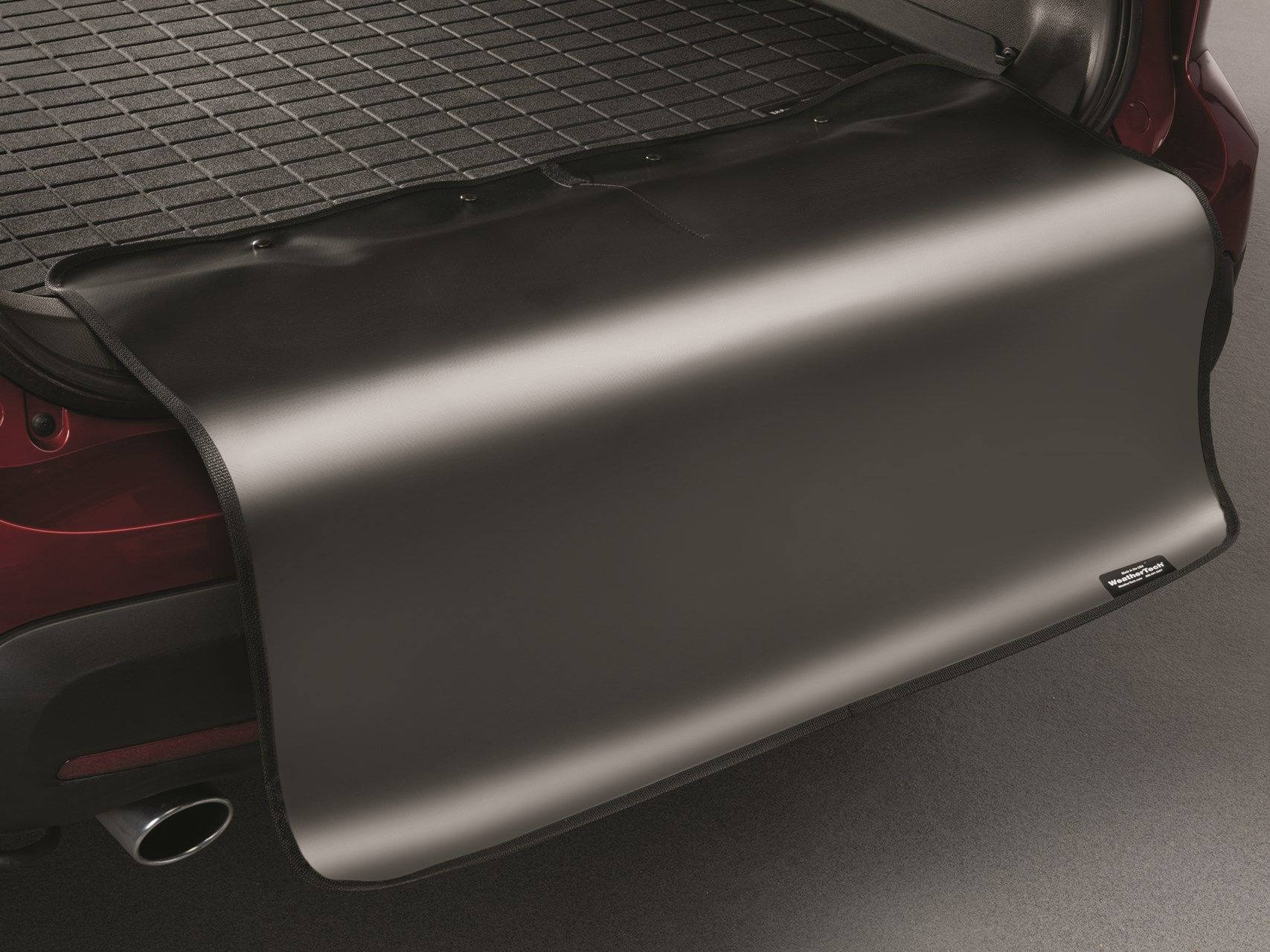 Weathertech mats part source - The Weathertech Bumper Protector Is A Great Addition To Your Cargo Liner To Help Protect