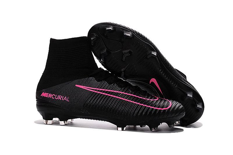 reputable site 45be1 83692 Nike Mercurial Superfly V Black  Pink Blast