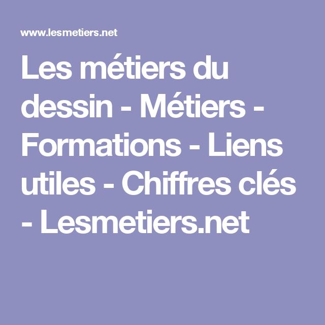 Les métiers du dessin - Métiers - Formations - Liens utiles - Chiffres clés - Lesmetiers.net