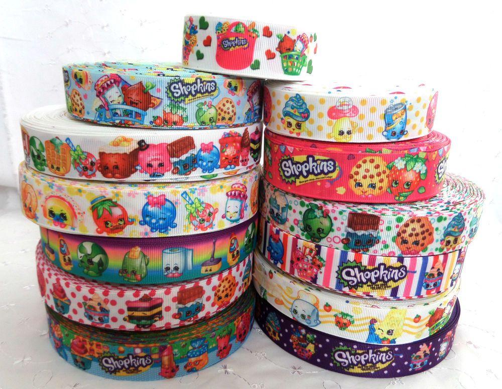 "1M 1/"" Doll Grosgrain Ribbon Hair Bow Disney Cake Crafts Gift"
