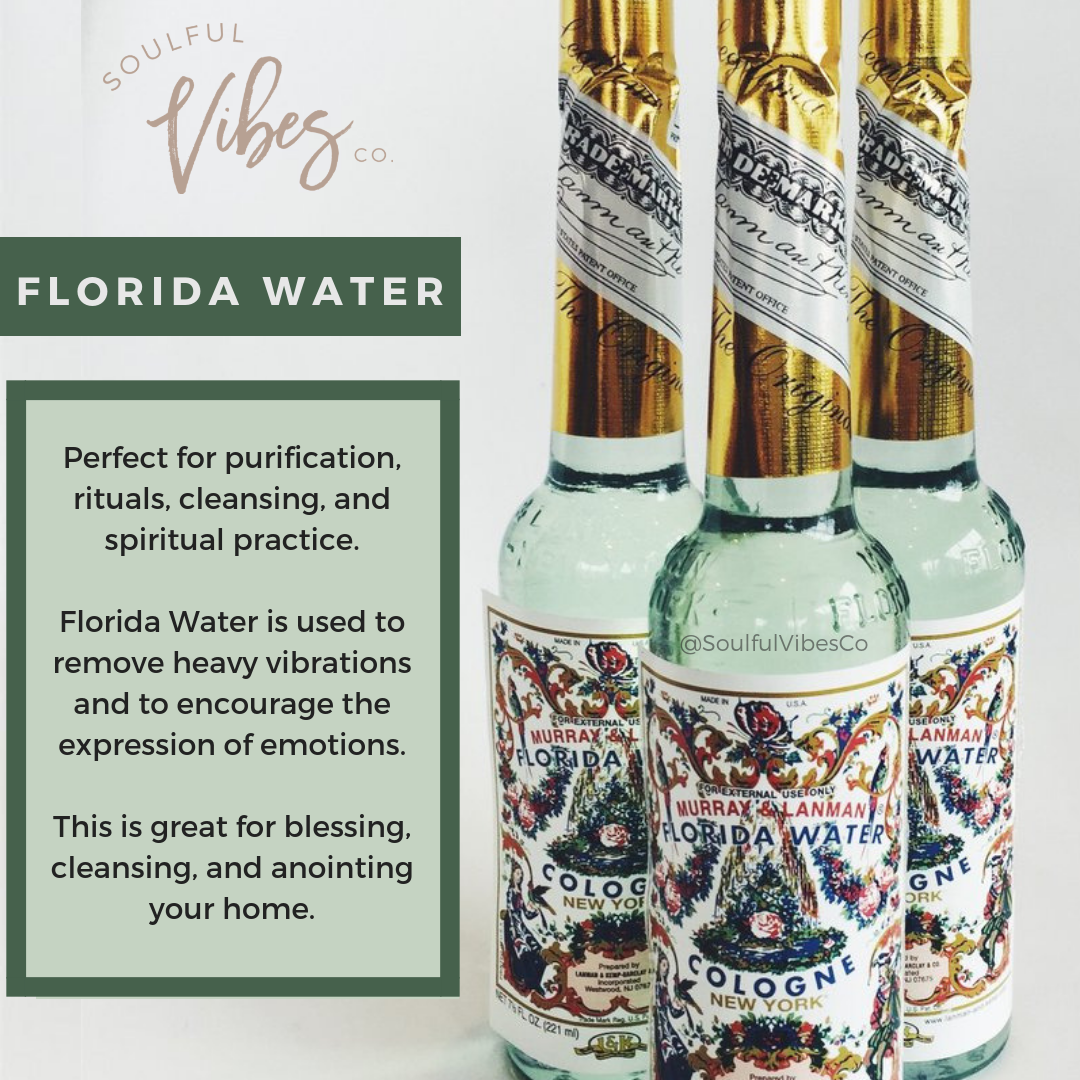 Double tap if you love Florida Water  Cleanse purify and renew your space with this magical cleansing anointing water   Use it to clean your home altar space furniture ev...