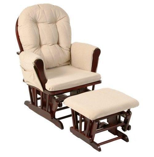 Cherry Glider Ottoman Baby Rocking Chair Lazy Boy Recliner Lounge