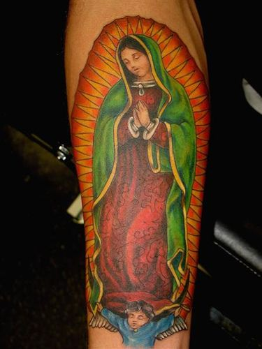12 Graceful Our Lady of Guadalupe Tattoos | Tattoodo