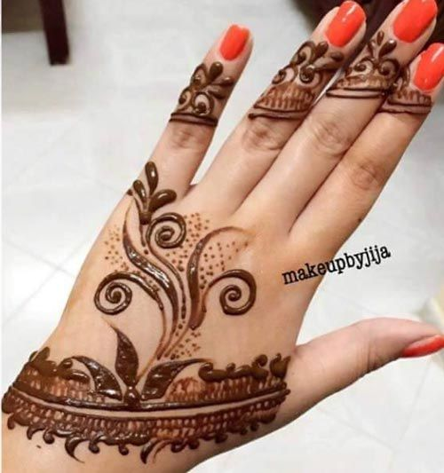 Simple Easy Mehndi Designs For Beginners Hands 2016 2017 Henna