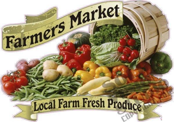 14 Quot X20 Quot Farmers Market Fresh Local Fruit Vegetable Farm