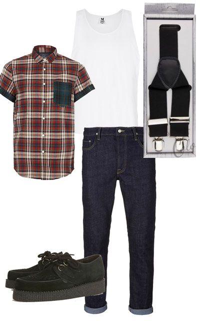 Comment porter les bretelles comment porter bretelles et hommes vintage - Style rockabilly homme ...