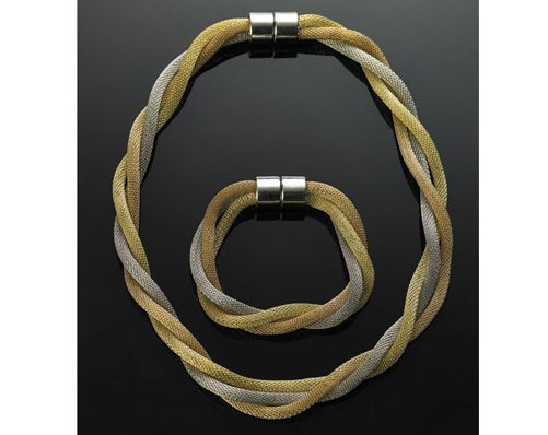Triple Snake Bracelet With Free Matching Bracelet 163 17
