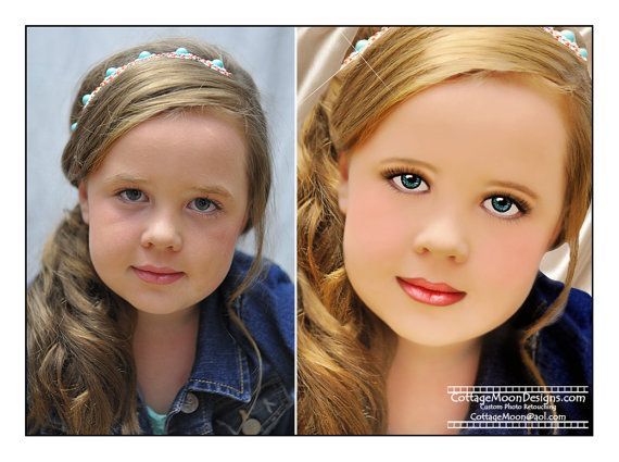 GLITZ Pageant Retouching Professional Custom Photo - Look at this girl. She is a cartoon. #media #identity