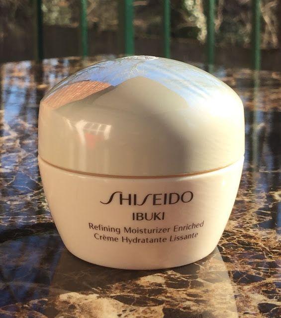 Shiseido Ibuki Refining Moisturizer Enriched Moisturizer Shiseido Shampoo Bottle