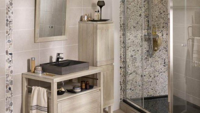 salle de bains avec galets recherche google