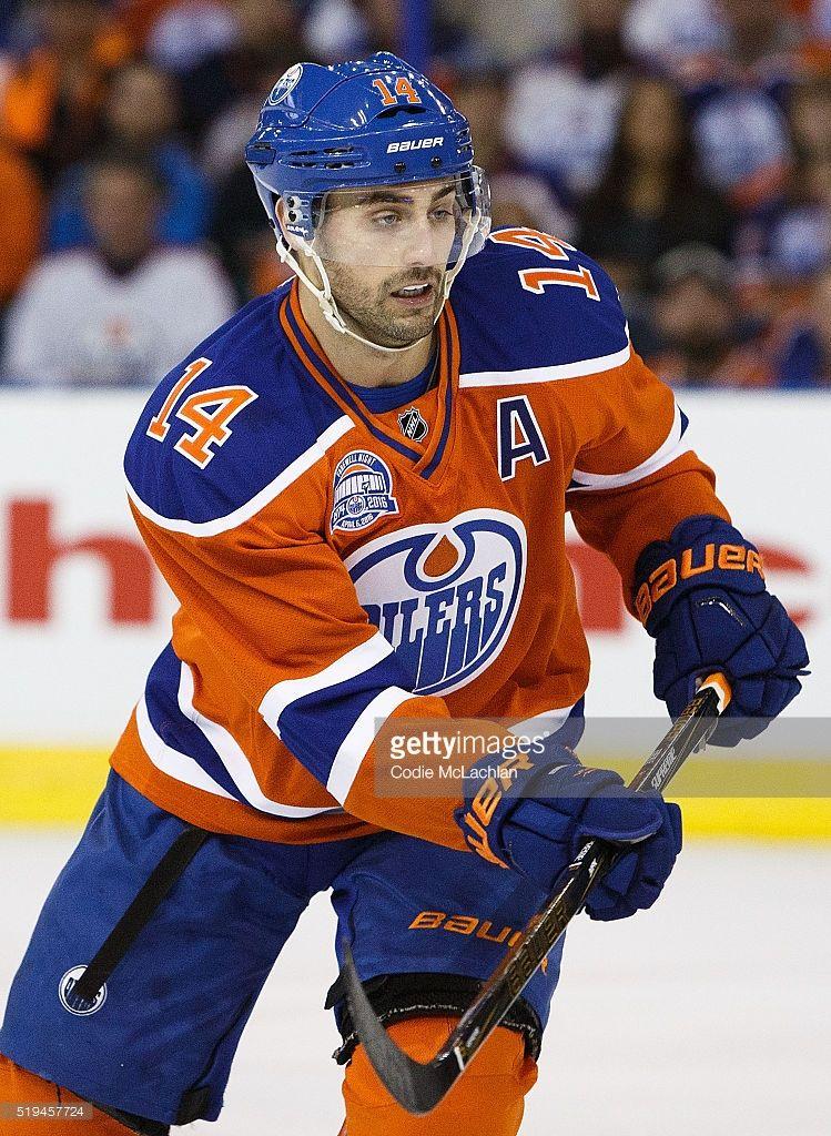 Jordan Eberle Of The Edmonton Oilers Skates Against The Vancouver Edmonton Oilers Oilers Vancouver Canucks