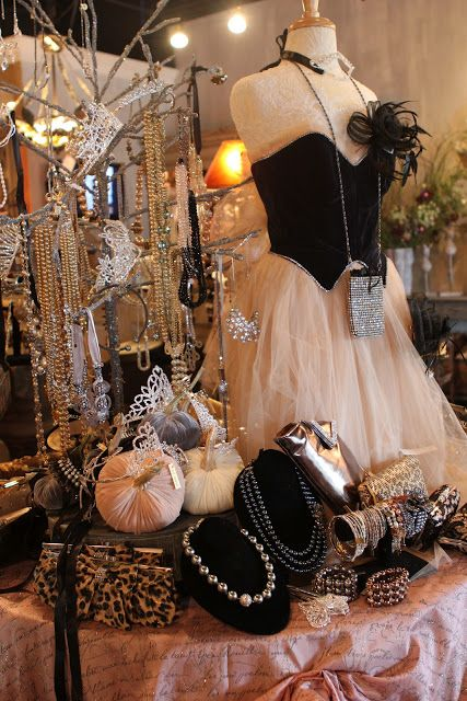 Romancing The Home. Display Ideas For JewelryJewelry Table ...