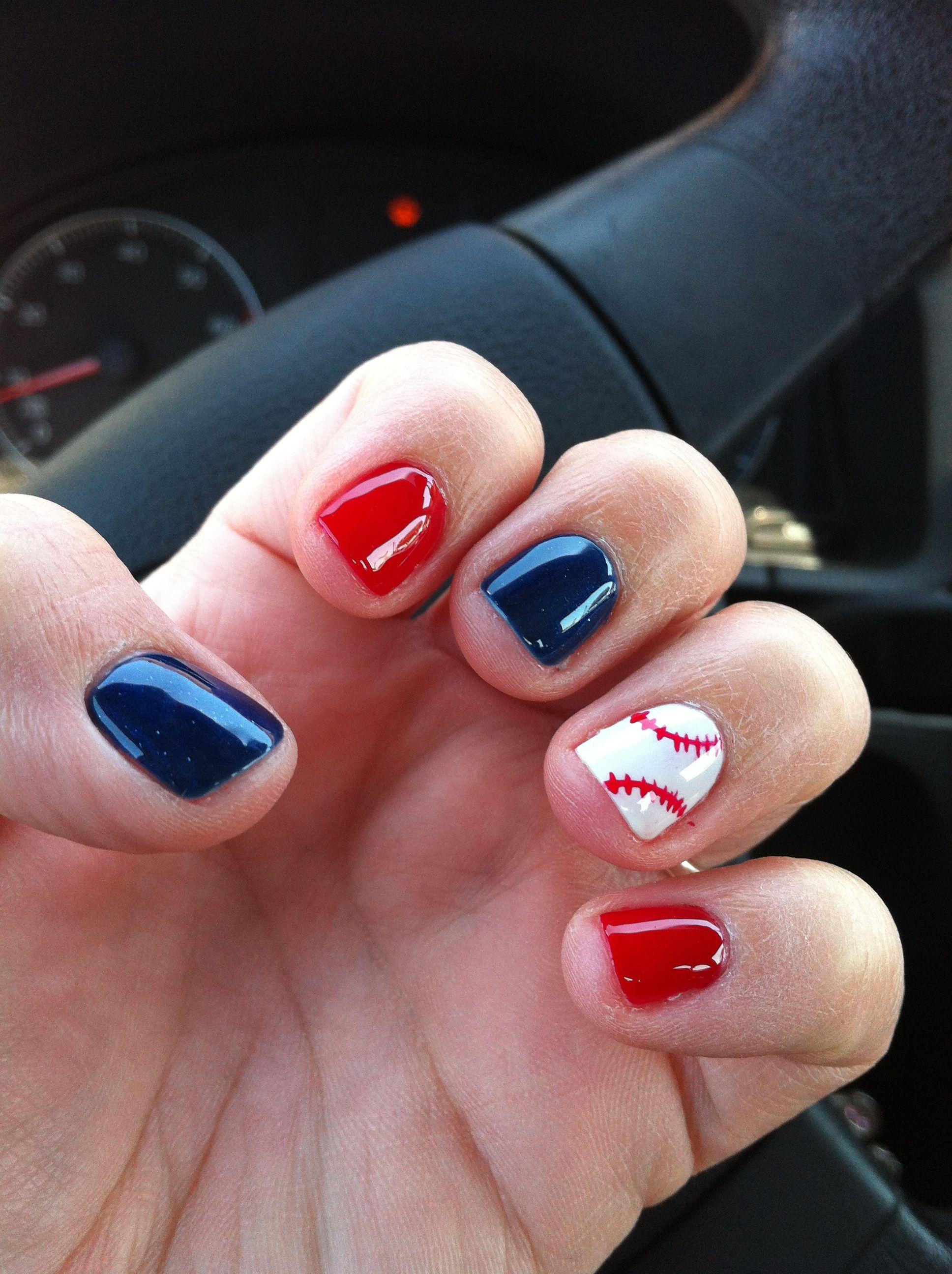 baseball nails twins