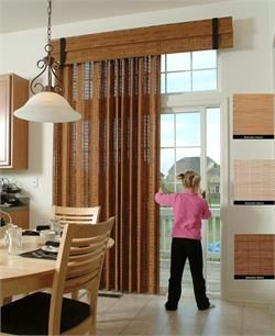 Averte Custom Woven Wood Patio Panel System - Group 1 Patterns | Bestwindowtreatments.com #windowtreatments