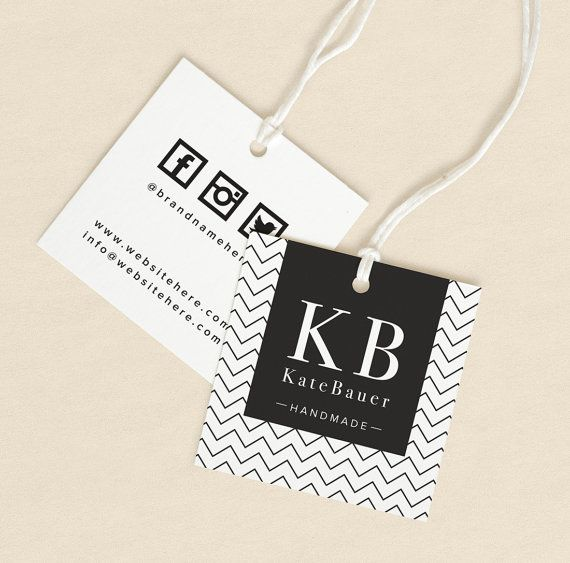Textile Tags Printed Label Custom Hang Tags Product Label