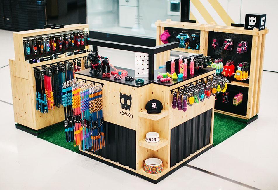 Zee.Dog Open Store Brazil Quiosque shopping, Quiosque