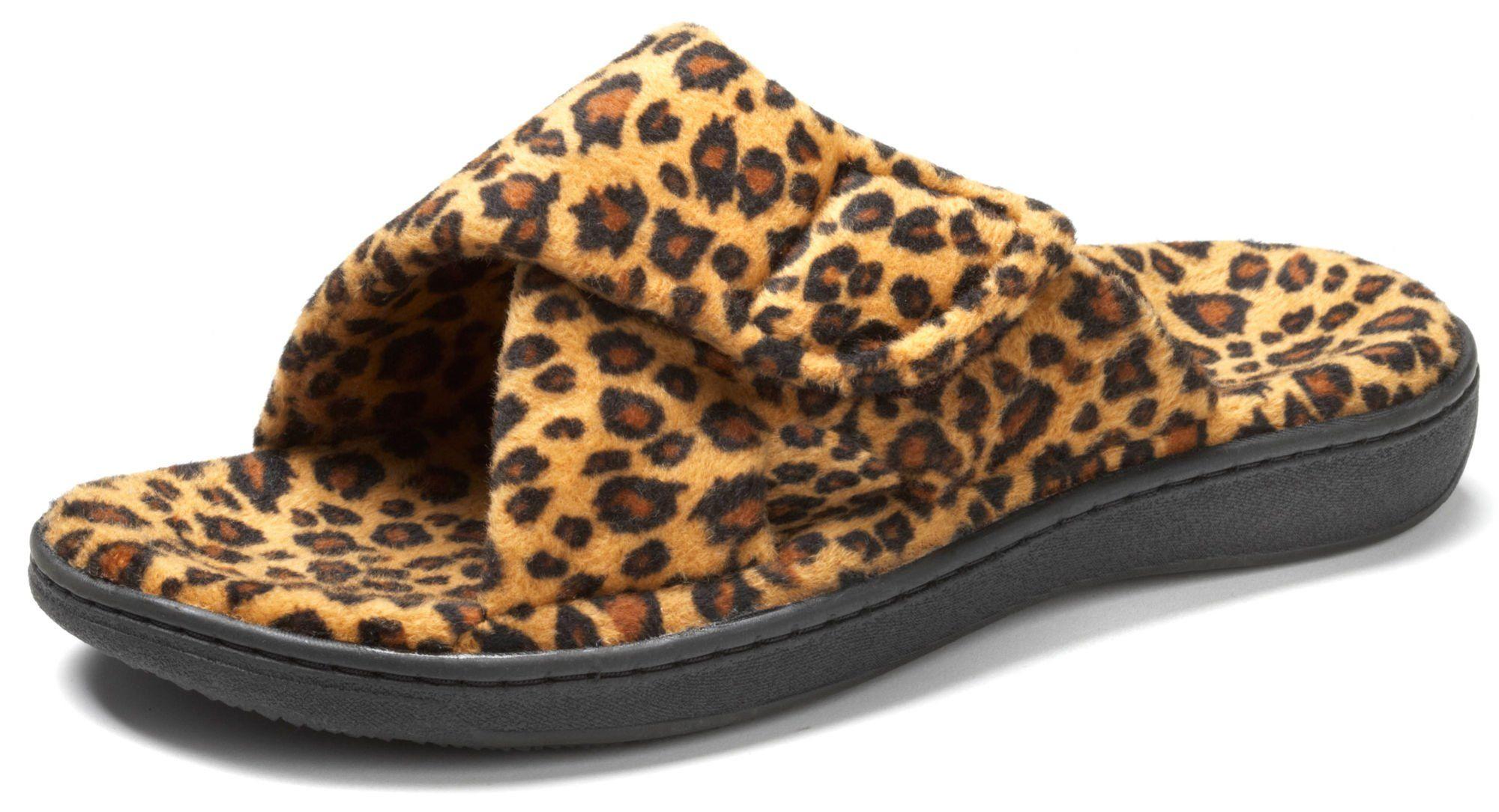 476c2659157 Orthaheel Women s Relax Slippers - Tan Leopard