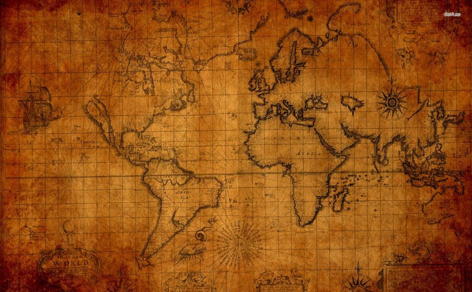 Old world map hd wallpaper wallpapers pinterest old world map hd wallpaper gumiabroncs Gallery