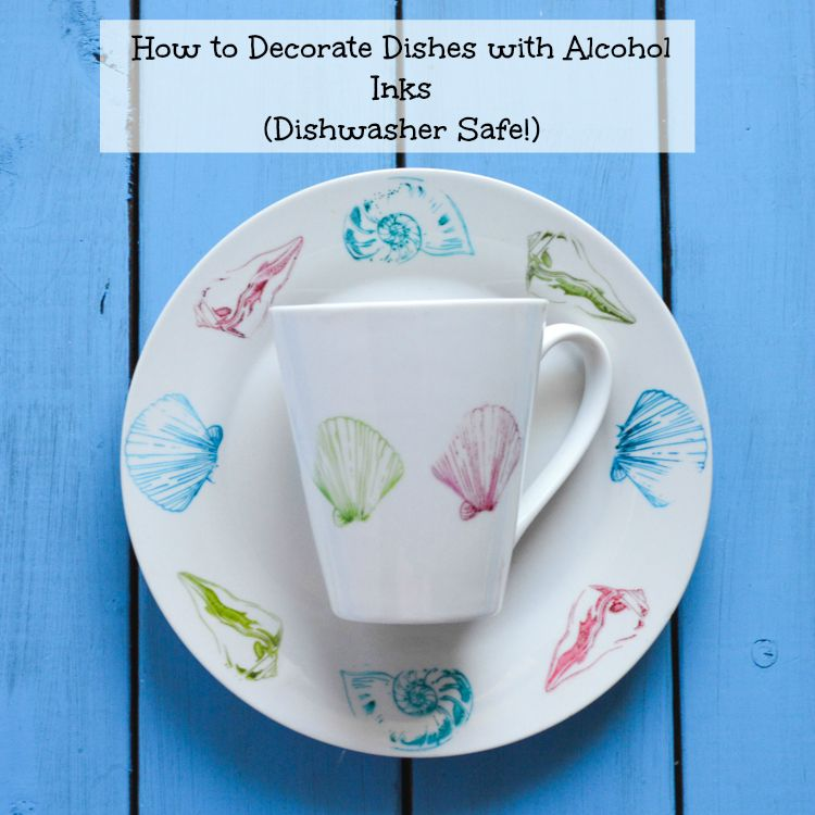 Diy Dishwasher Safe Decorating Plates And Mugs Sharpies Sharpie Pens And Alcohol Inks Sharpie Paint Pens Diy Mugs Sharpie Pens