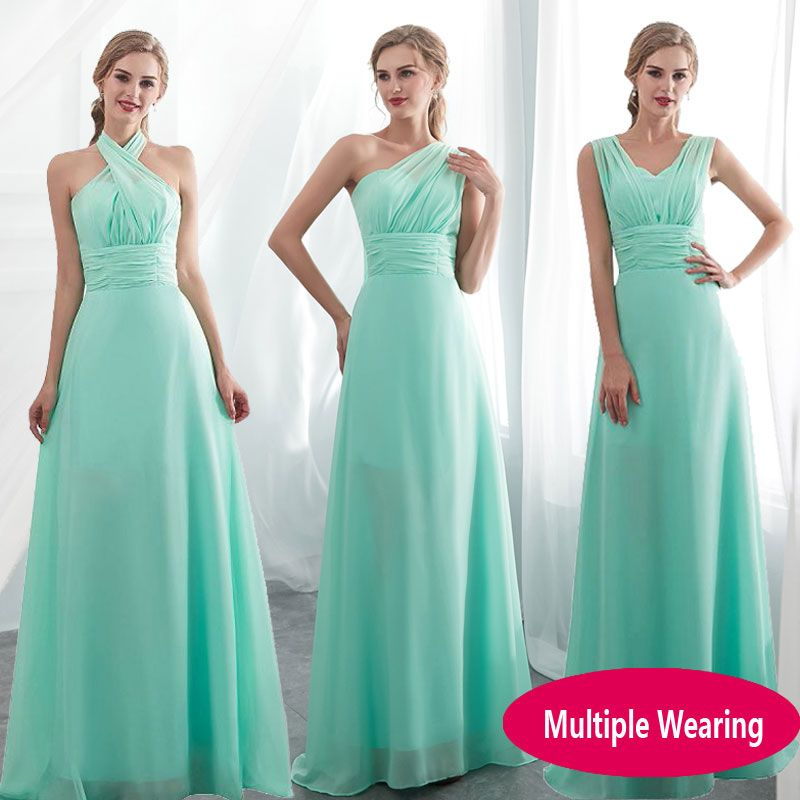 34240a73beb 2019 Candy Color Elegent Long Chiffon A Line Bridesmaid Dresses Vestido da  dama de honra wedding party dress Plus size customize  bridesmaiddresses ...