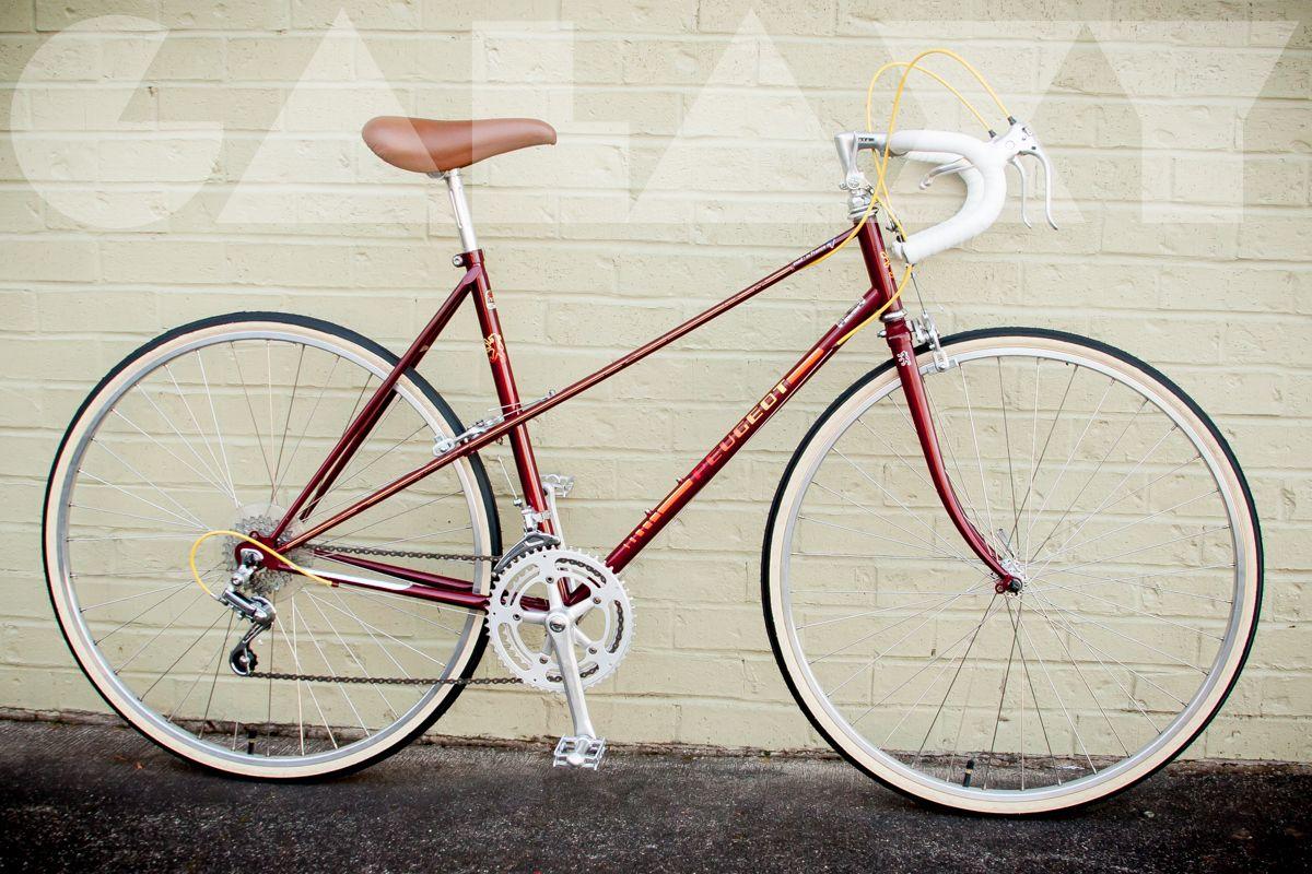 Vintage Yellow Peugeot Road Bike Google Search Fiets