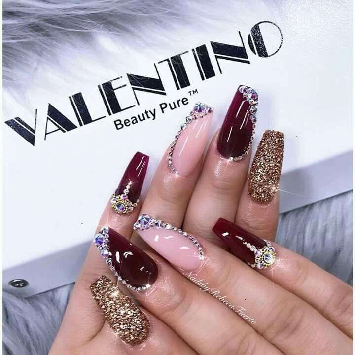 Pin by Rosmery Barrientos on Pantalla   Pinterest   Long nail ...