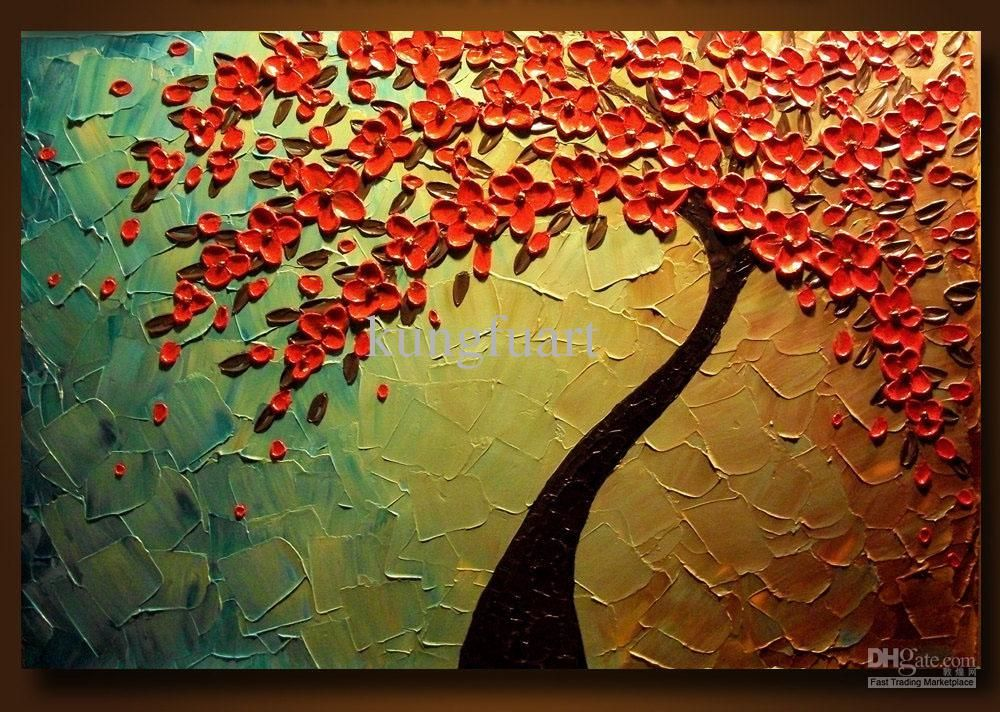 Wholesale oil painting buy 100 hand painted heavy for Texture painting ideas canvas