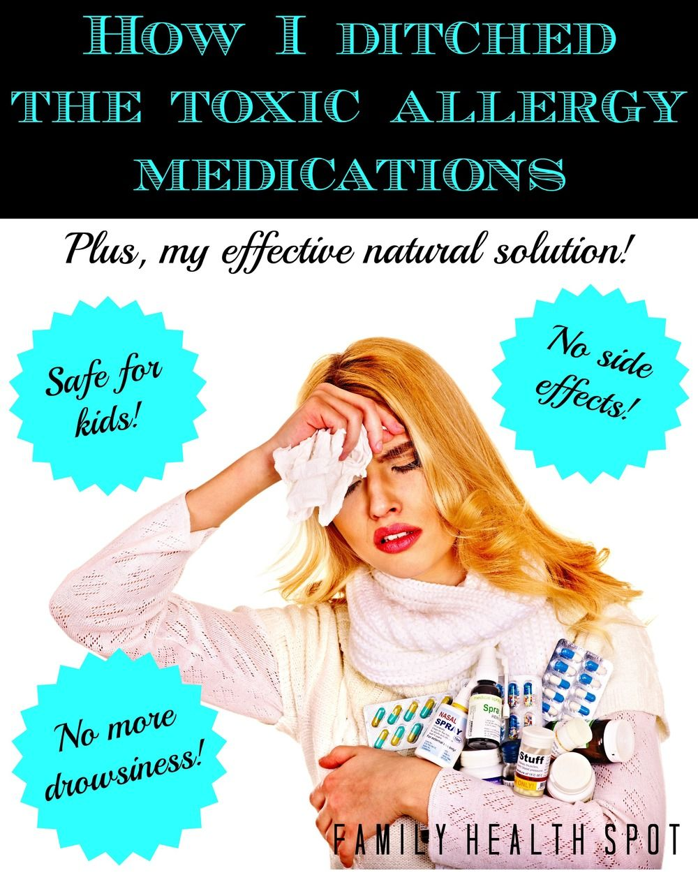 How I Ditched The Toxic Allergy Medications For Good Therapeutic Grade Essential Oils Allergy Medication Essential Oils For Congestion