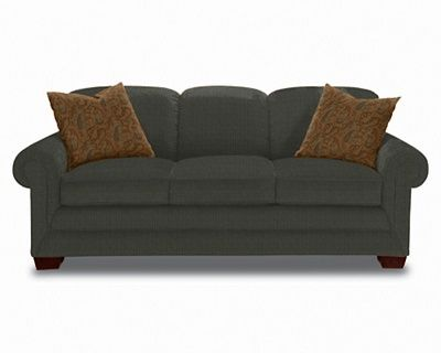 A Tight Back Sofa With Rolled Arms A Classic