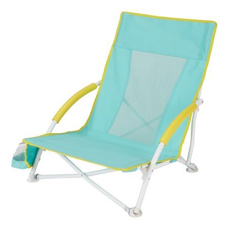 Mainstays Portable Outdoor Folding Beach And Event Chair Size