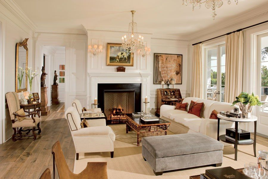 Celebrity Living Rooms  Rob Lowe Wife Rob Lowe And Architectural Beauteous Best Designed Living Rooms Review
