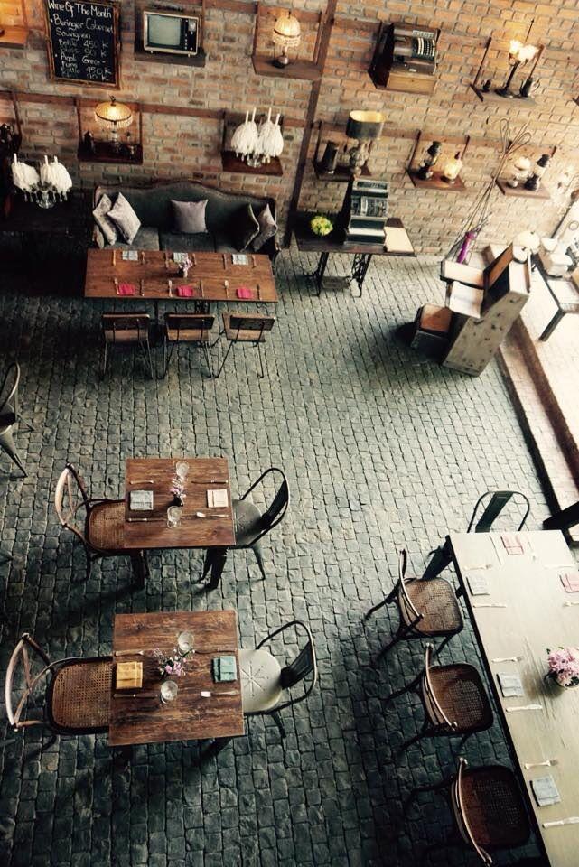 The bistrot restaurant at seminyak bali