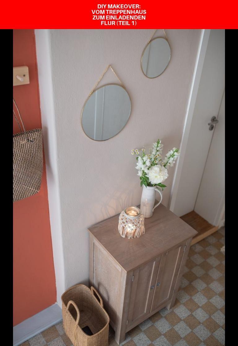 Diy Makeover Vom Treppenhaus Zum Einladenden Flur Teil 1 In 2020 Schoner Wohnen Farbe Treppe Haus Treppenhaus