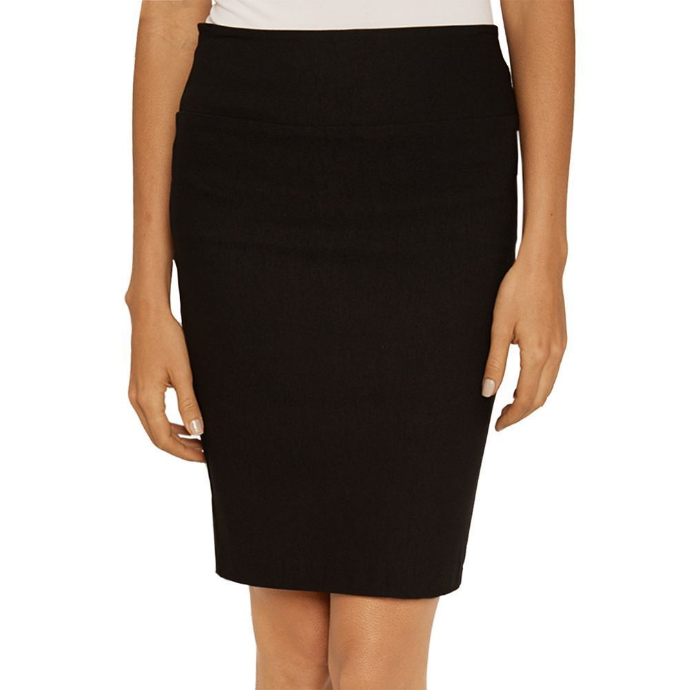 Juniors' IZ Byer California Pull-On Pencil Skirt Black