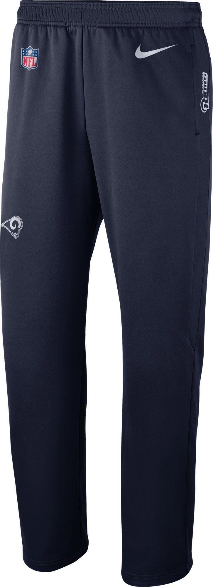 7b6fedf6387e Nike Men s Los Angeles Sideline Therma-FIT Navy Performance Pants ...