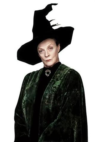 Professor Mcgonagall I Ll Have To Do Some General Destruction On The Hat Plus Some Feathers The Green Velvet Robe Is Pretty Str Harry Potter Lufa Lufa Harry