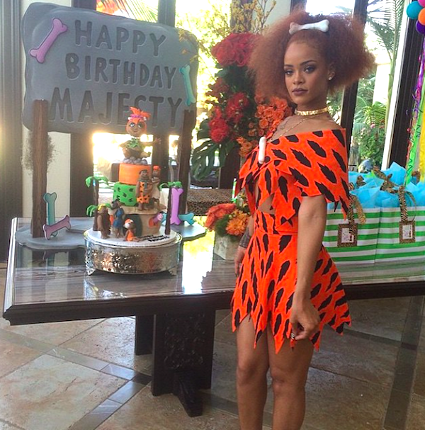Rihanna Celebrates Cousin And God Daughter Majesty's First