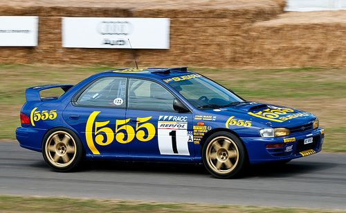 colin mcrae s 1996 subaru impreza wrc at the 2009 goodwood fos ラリーカー スバル インプレッサ スバル pinterest ie