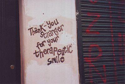stranger no danger, quite the opposite. :)