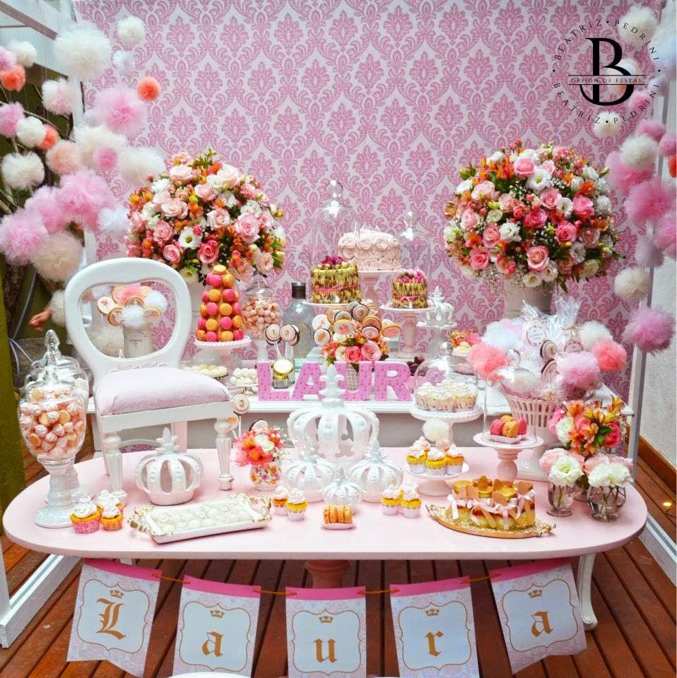 Encontrando ideias tema princesas mesa de dulces for Idea de decoracion