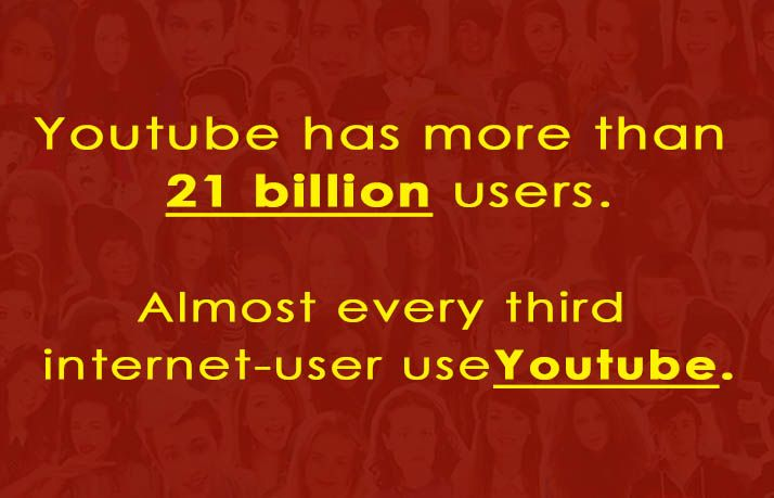 Do you know how many users have with youtube